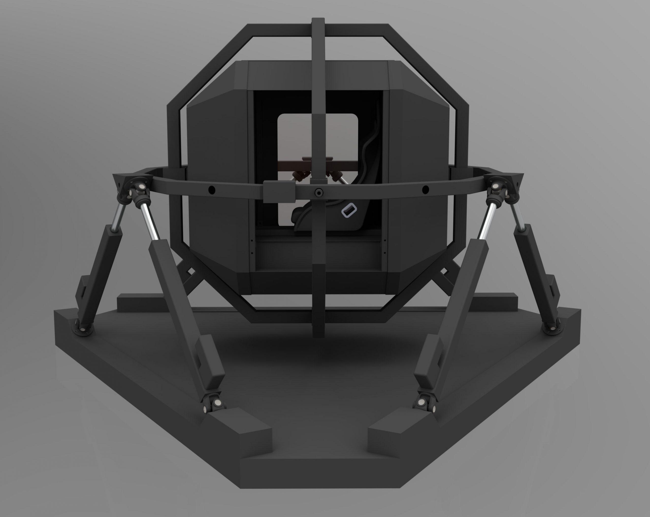 6dof VR Simulator