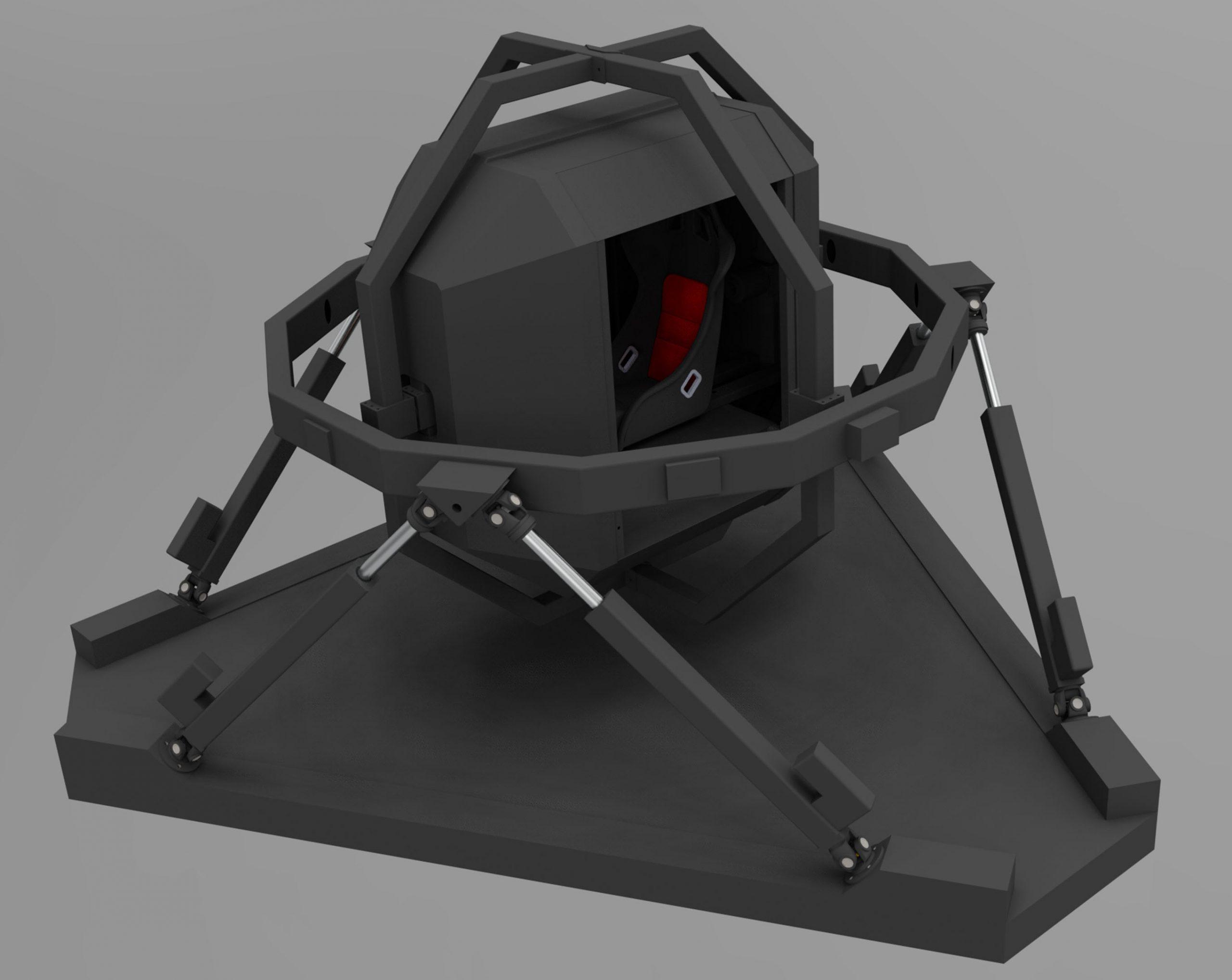Simulator 6dof